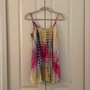 natural life tye-dye dress